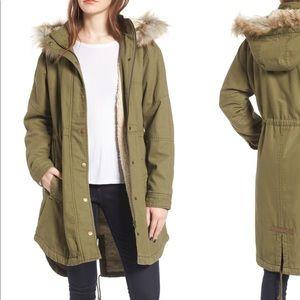 Faux Sherling Lined Jacket